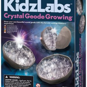 Crystal Geode Growing